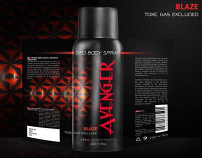 AVENGER Deo Spray - Packaging Re Design