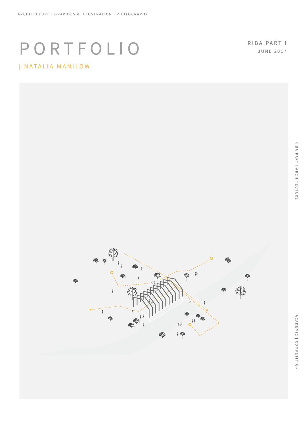 Natalia Maniow   Part I Architecture Portfolio 2017