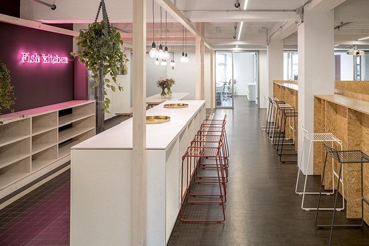 Razorfish office by Bruzkus Batek, Berlin - Germany