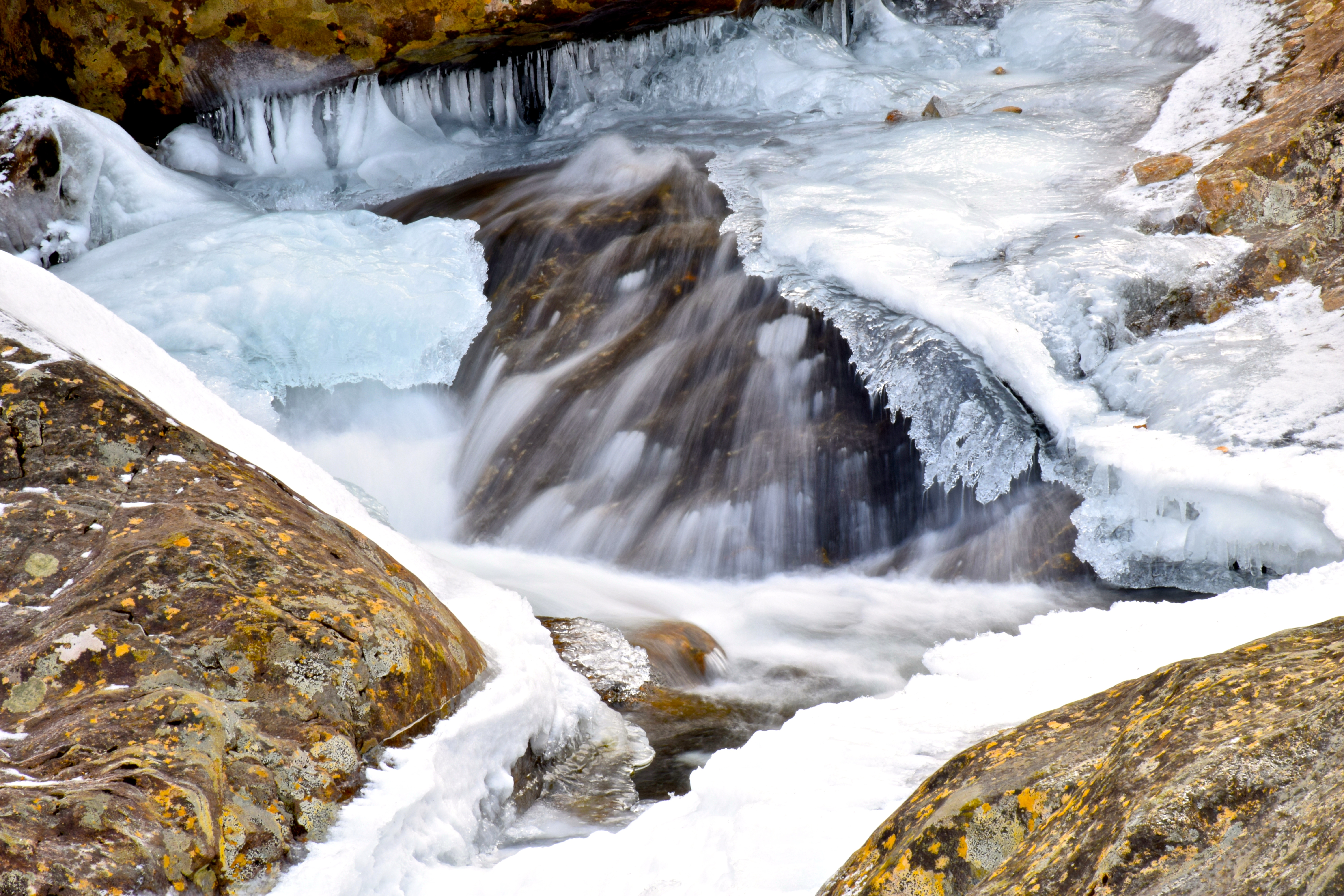 Rock, Water, Ice, and Snow
