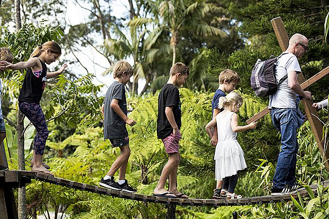 Ian Potter Children's WILD PLAY Garden opens in Sydney's Centennial Parklands December 4, 2017,AEDT