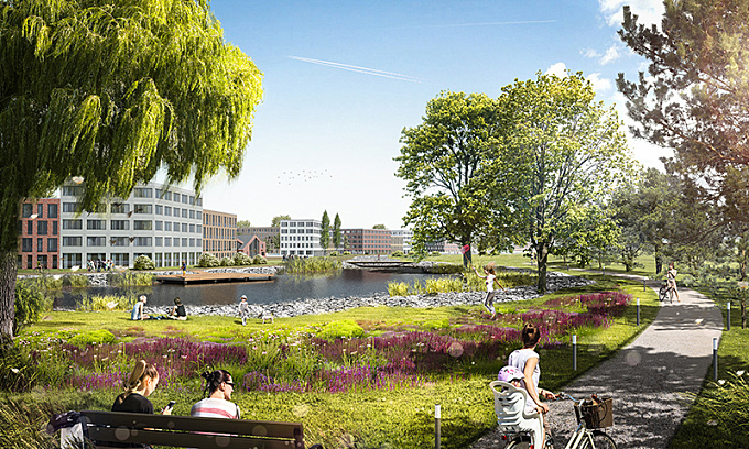 LEVS architecten and VLUGP win master plan competition in Russia July 12, 2016,AEDT