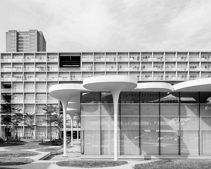 Toyo Ito & Associates, Lucas K. Doolan · National Taipei University Library