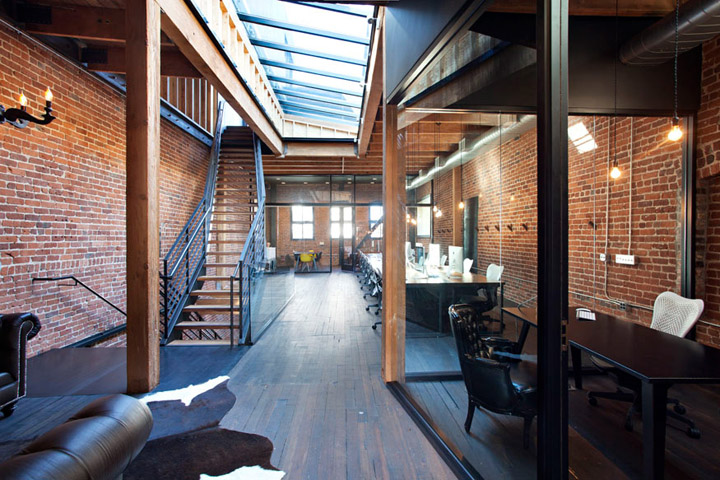 Synthetic offices by envelope A+D, San Francisco