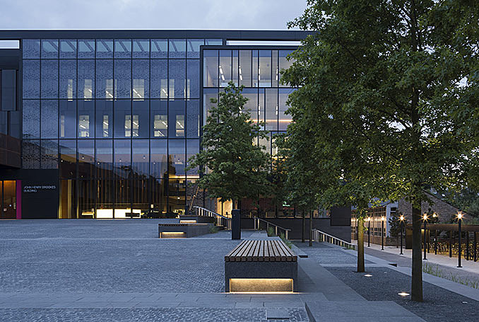 Oxford Brookes University – A step change in campus design August 12, 2016,AEDT