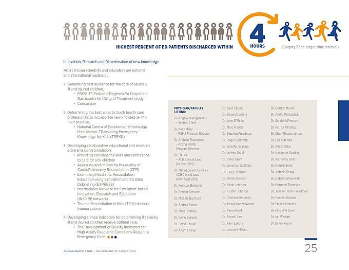 Paediatrics annualreport 2013