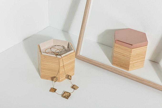 ID jewelry box 首饰盒设计-蜂巢