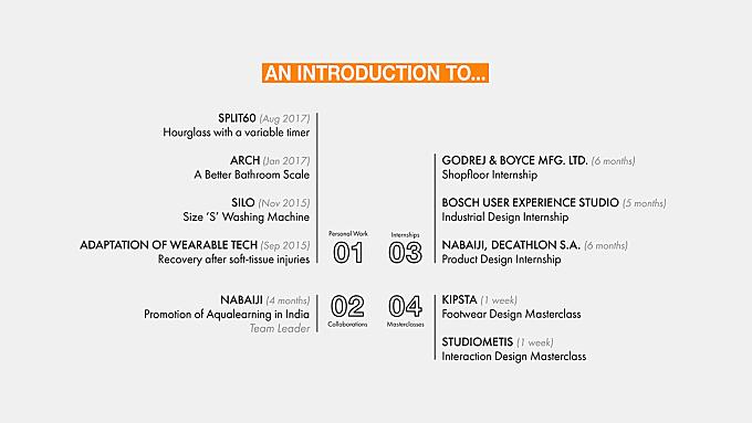 Industrial Design Portfolio - 2017