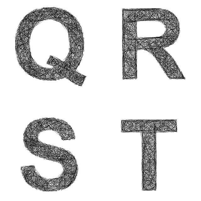 q, r, s