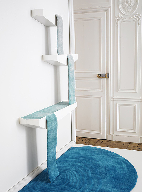 Product Design: Rugs made like waterfalls and household shrines from Dean Brown