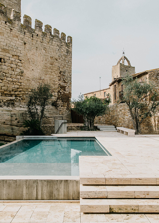 Swimming Pool of the Week: A Medieval Castle Gets an Infinity Pool
