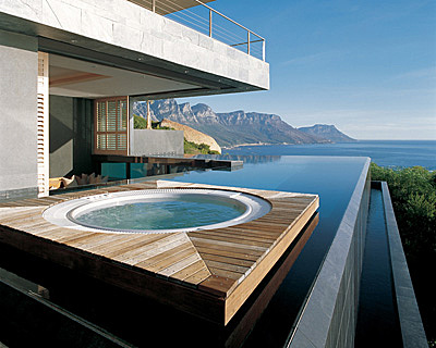 the world's most beautiful private pools