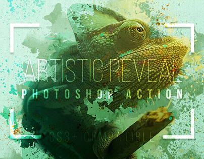 Artistic Watercolor Reveal Photoshop Effect