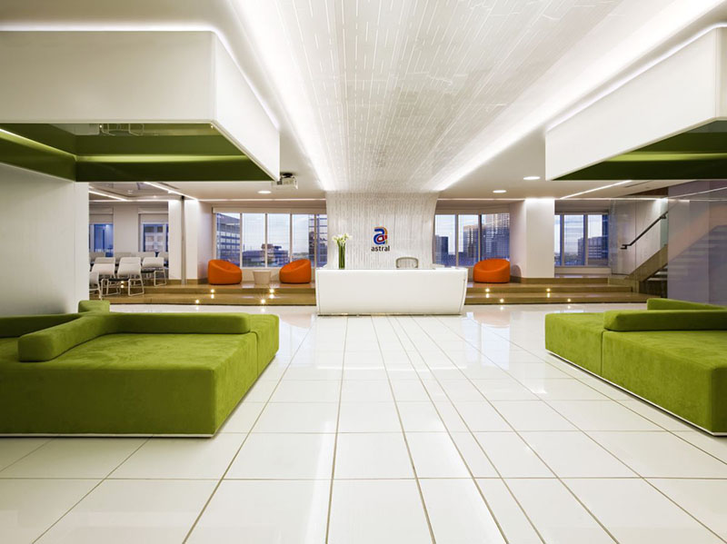 New Office Interior for Astral Media by Lemay Associés