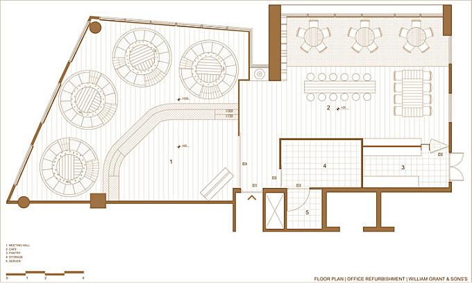 William Grant & Sons Ideation Space / Design Plus