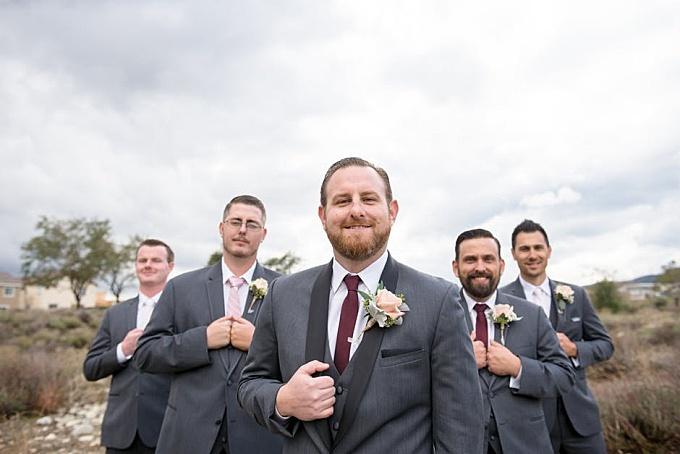 Five Men Standing On Field