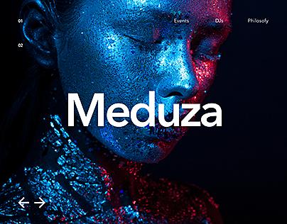 Meduza. Club Project. Website