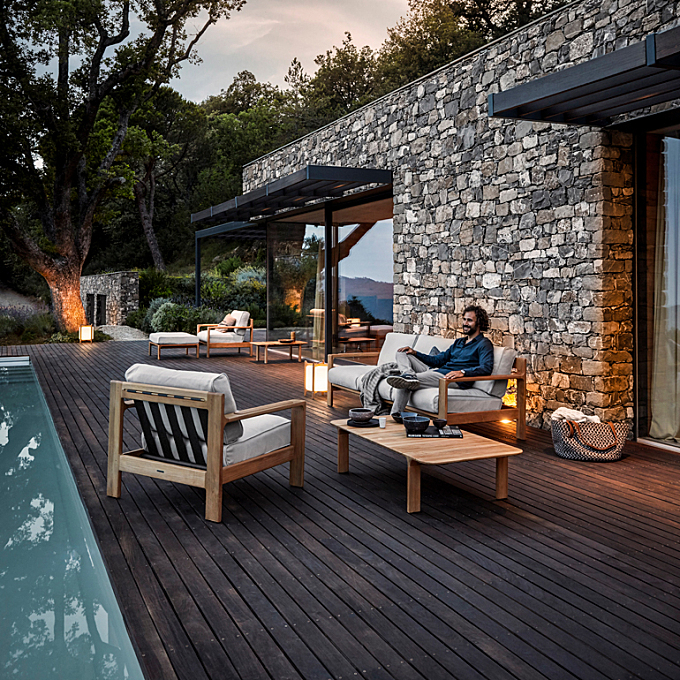 Sleek Design and Smart Materiality Elevate New Outdoor Collections