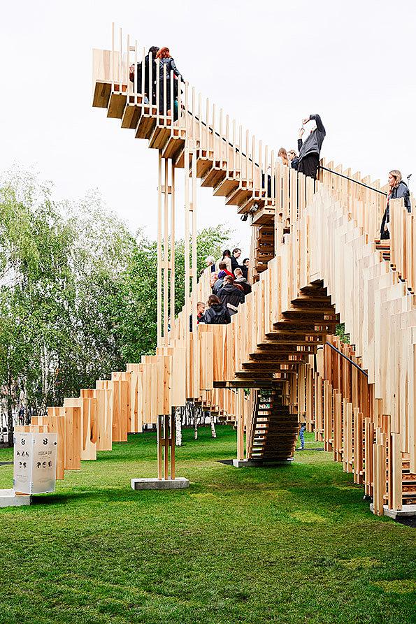 Architecture: dRMM's Escher-inspired Endless Stair stars in design festival