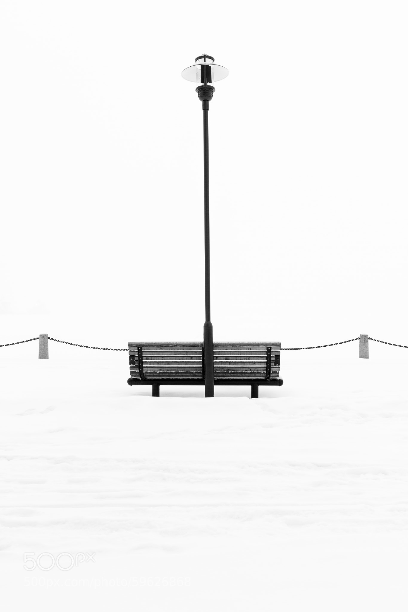 The bench at the harbor