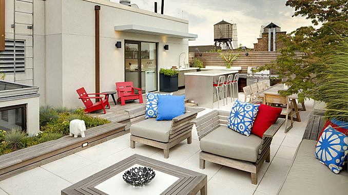 Rooftop Garden Escape | Tricia Martin & Winston Ely, WE Design July 30, 2016,AEDT