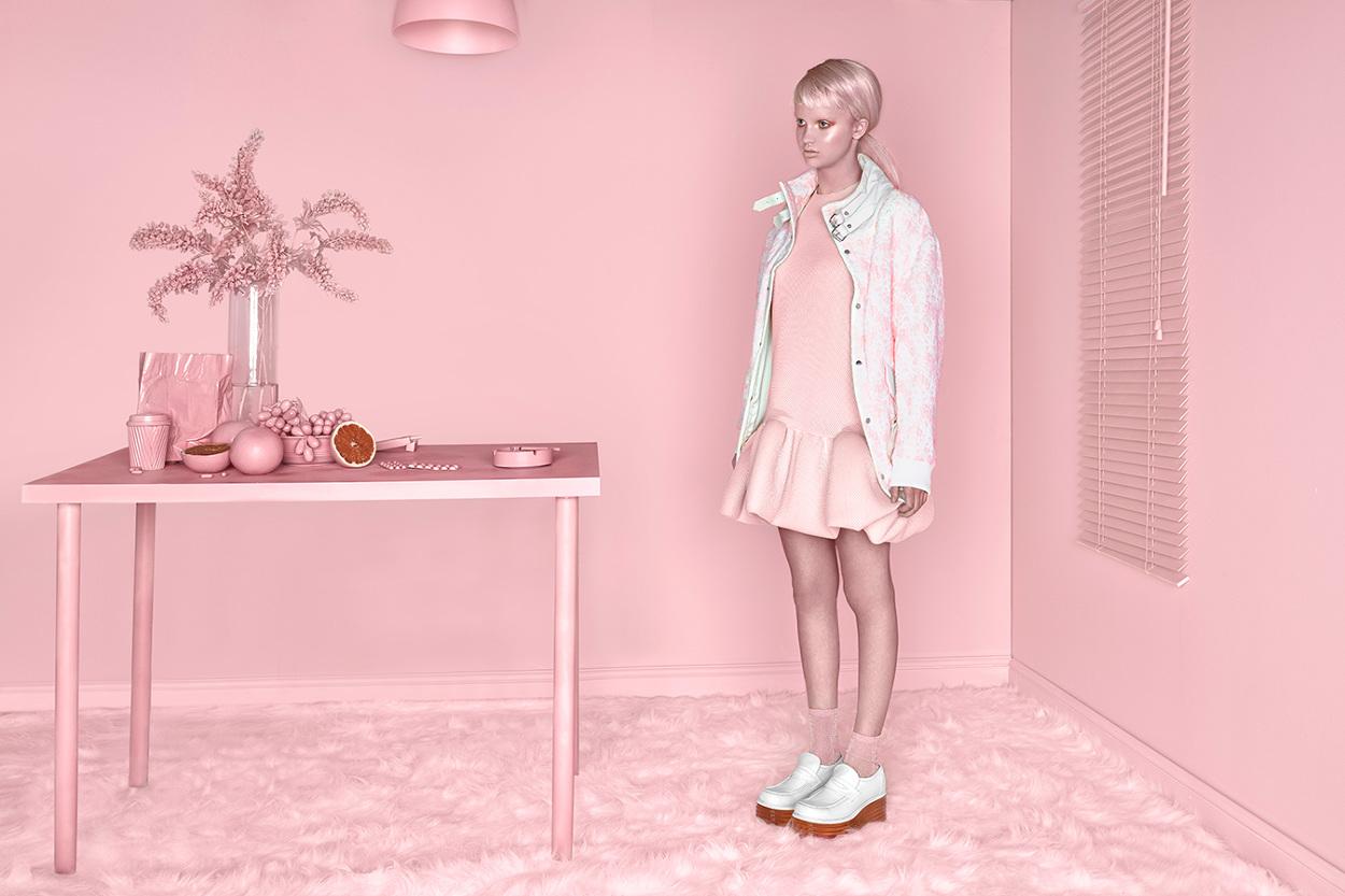 Pink Monochromatic Sceneries