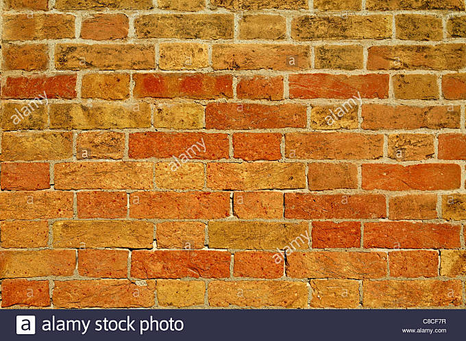 Close up of Brick wall - Stock Image