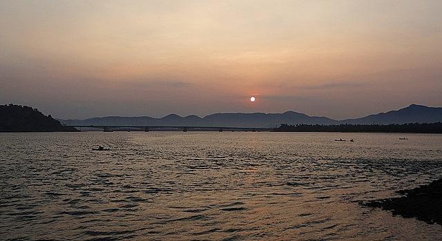 sunrise, western ghats, mountains