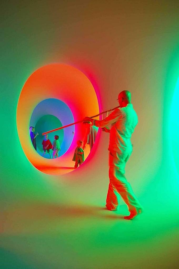 70's Colourscape Walk Installation in England