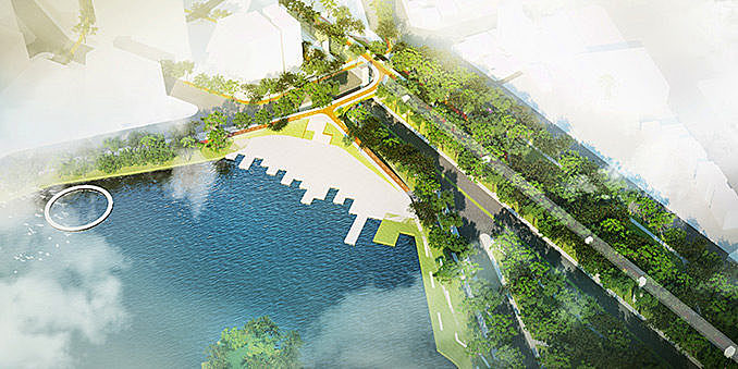 Taichung Green Corridor | Taichung, Taiwan | Mecanoo and S.D Atelier June 12, 2018,AEDT