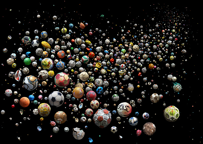 Mandy Barker's photography is a beautiful and shocking commentary on our excessive plastic consumption