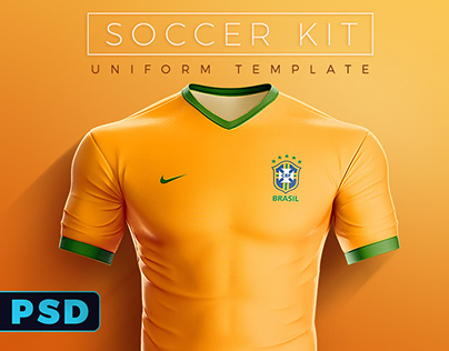 Goal Soccer Kit Uniform Template