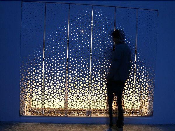 Peter Pichle----***风格穿孔百叶窗设计