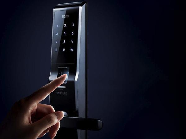Fingerprint Digital Door Lock By Samsung #gadgets