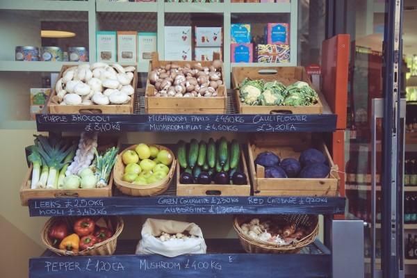 food market vegetable