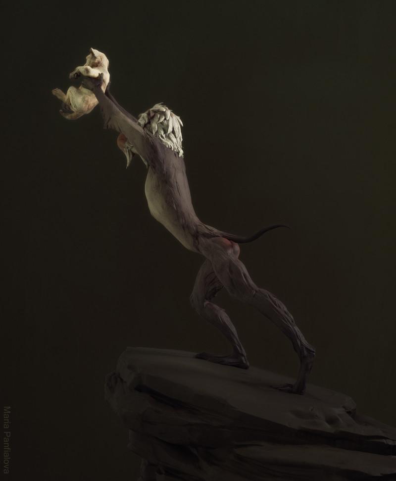 Simba and Rafiki