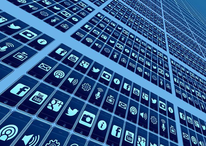 移动电话, 智能手机, App, 网络, 互联网, 社会, 社会网络
