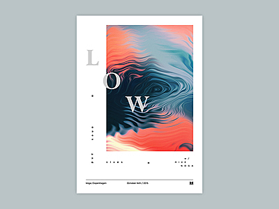 Gig poster project - LOW