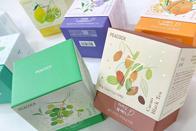 PEACOCK 7 TEA TIME Packaging