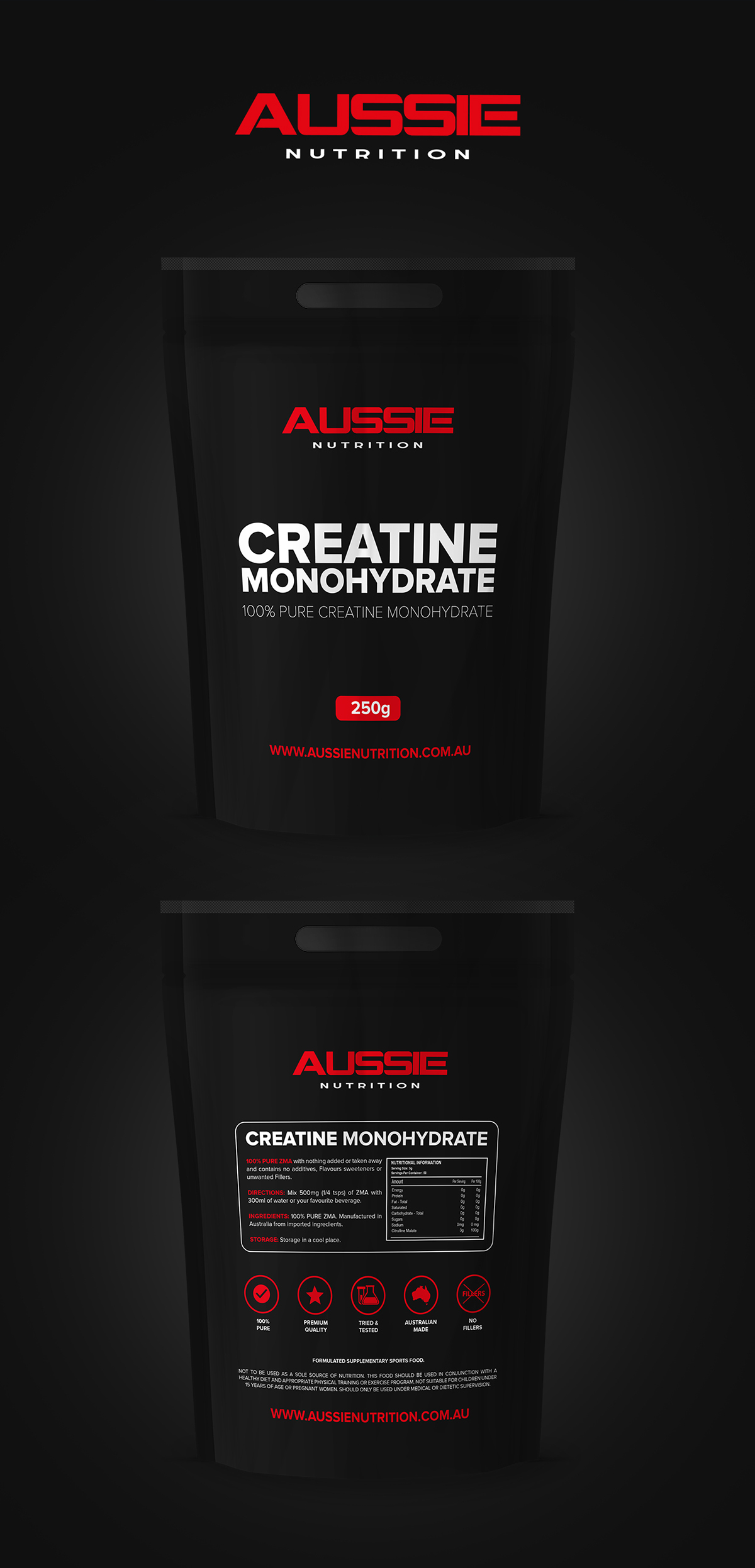 Supplements Packaging
