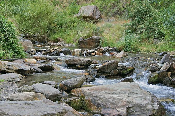 Rio Genil, Sierra Nevada, Andalusia, Spain