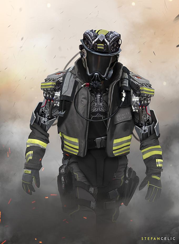 Mech Firefighter