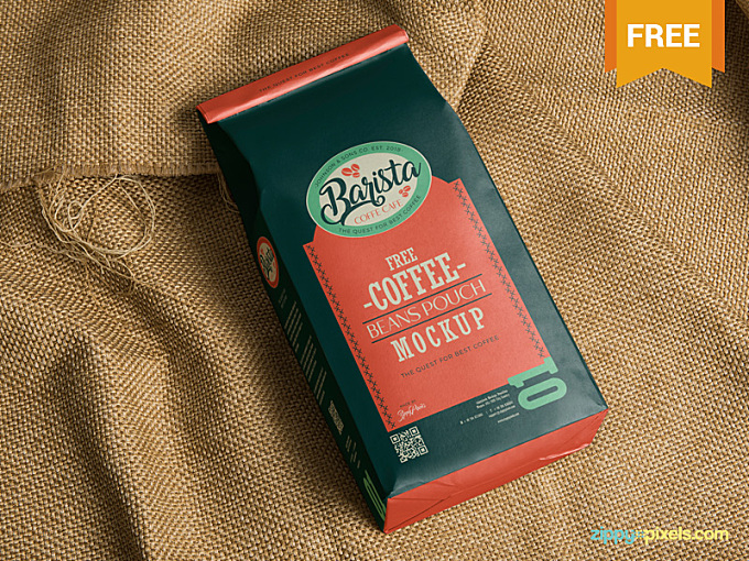 This coffee bag mockup will help you to present your designs without spending much time on it. Using smart object option you can add your design in just a few seconds. You can also adjust the shadows and lights effects using its layers. Please Click Here To Download This Free Classic Coffee Bag Mockup Press L to share some love :)