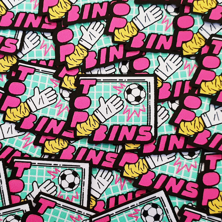Back of the net: CALM and Golaso release ten original football-related patches