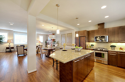 Caymus Townhomes - Kitchen