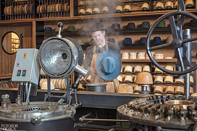 SOM Fashions Former Chicago Firehouse Into Bespoke Men's Hat Atelier