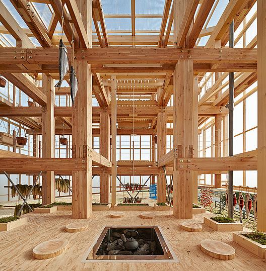 Nest We Grow  / Kengo Kuma & Associates + College of Environmental Design UC Berkeley