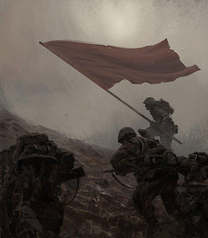 WWII Concept Illustration