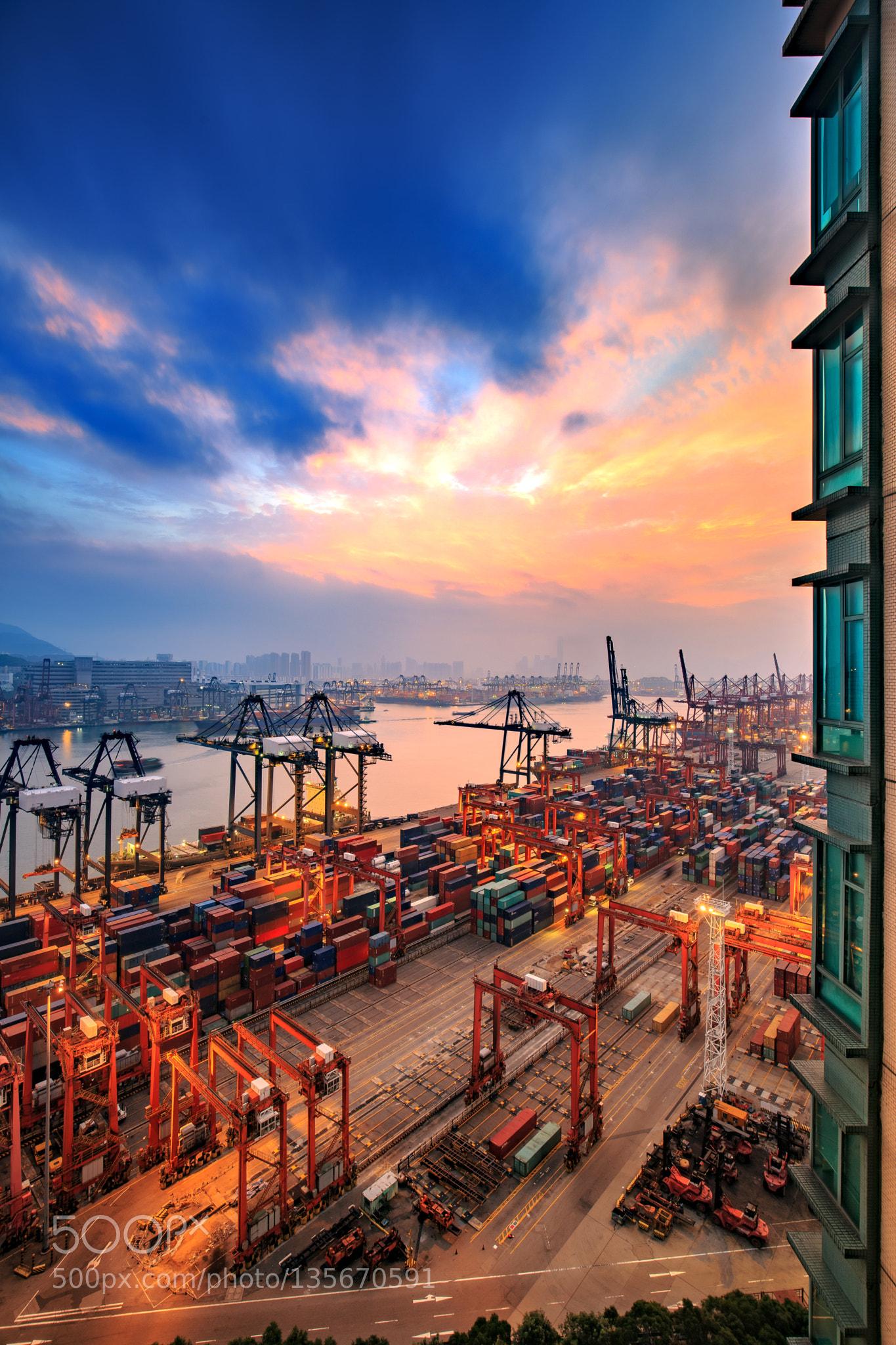 China Hong Kong wharf