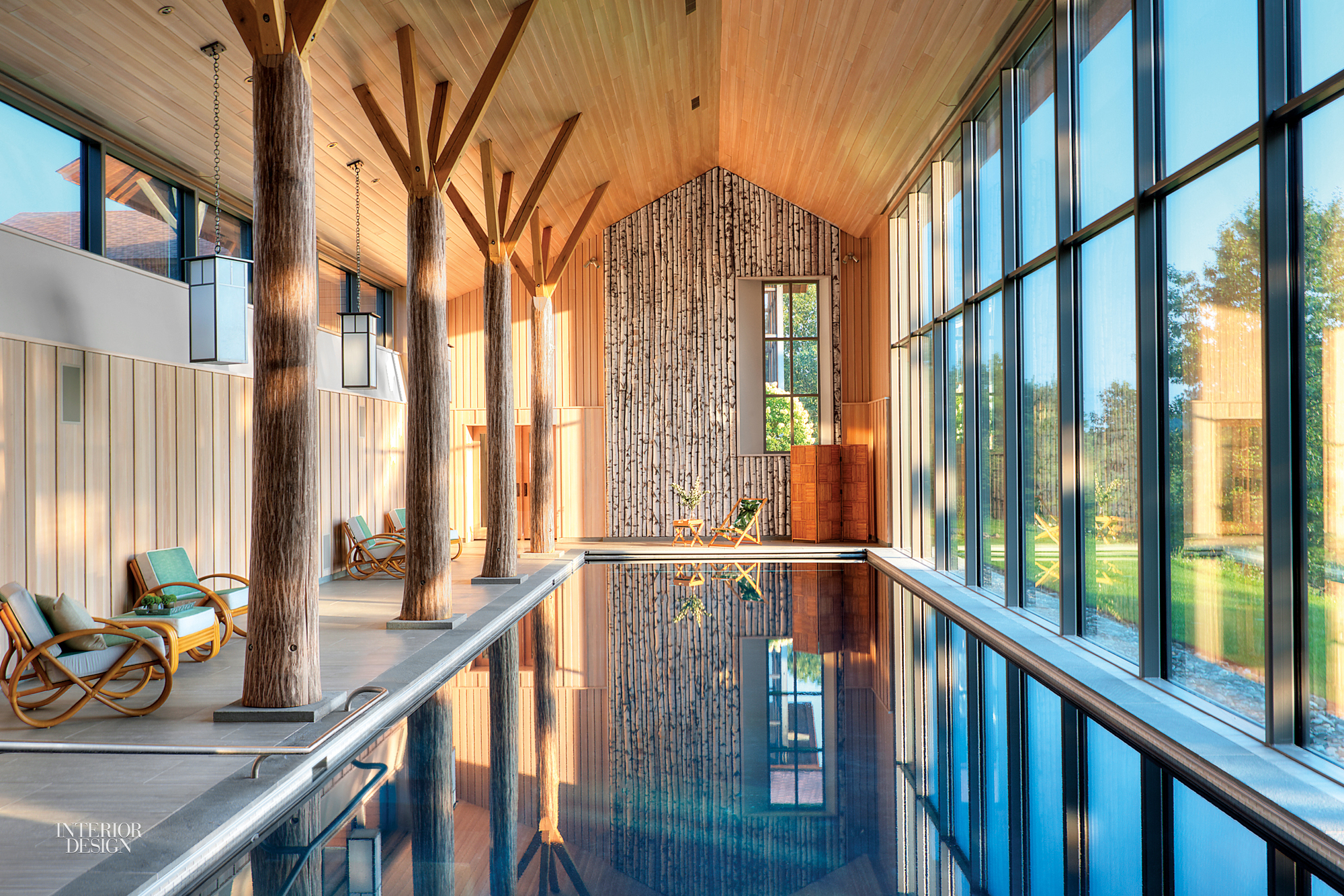 A Secret Pool House by BarlisWedlick Architects